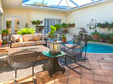 Baytree Vero Beach Oceanfront Villas With Courtyards By The Beach