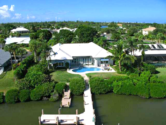 Cache Cay Vero Beach Gated Island Waterfront Homes