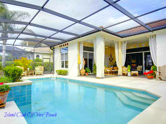 ISLAND CLUB OF VERO BEACH RIVERVIEW HOME WITH BEACH ACCESS