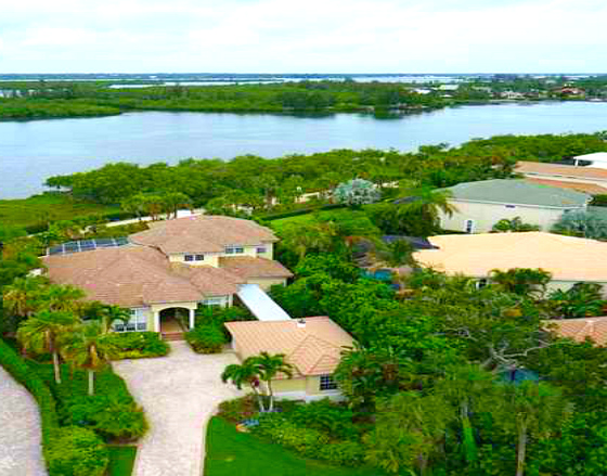 MARBRISA WATERFRONT HOMES VERO BEACH GATED ISLAND PROPERTIES