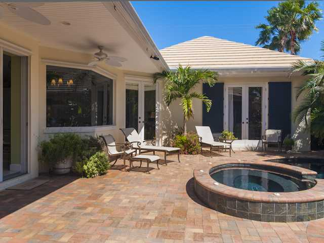 Courtyard Pool Home Sea Mist Court Moorings Vero Beach FL