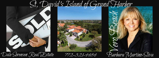 Sold! St. David's Island of Grand Harbor in Vero Beach Florida