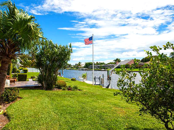 CANAL FRONT WATERFRONT HOME WITH DOCK VERO ISLES VERO BEACH FLORIDA