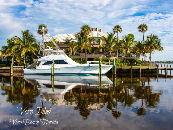 VERO ISLES VERO BEACH BOATERS PARADISE ON THE RIVER WITH PRIVATE DOCK