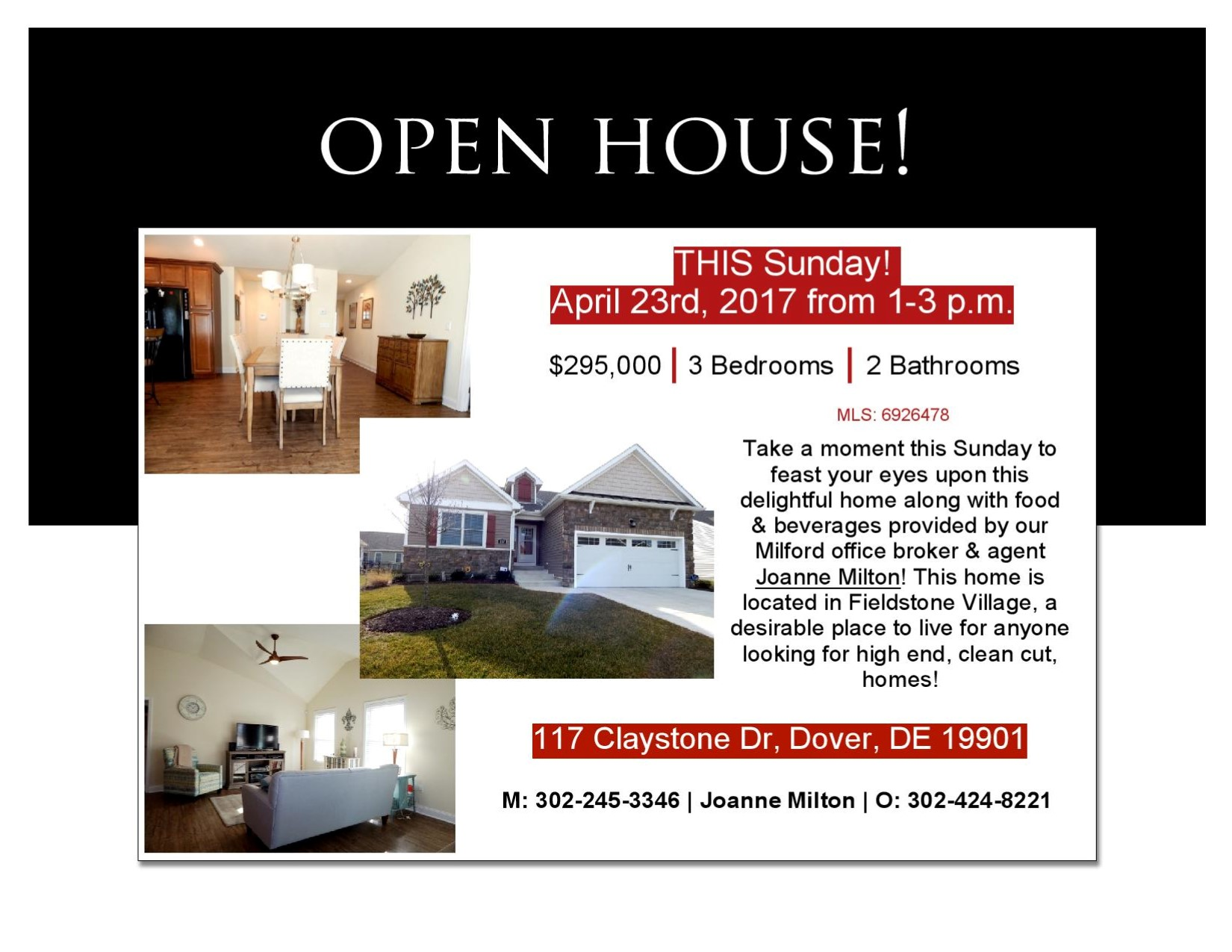 Delaware kent county viola - Tags Open House Fieldstone Manor Dover De Delaware Real Estate Joanne Milton Exit Central Realty 0 Comments