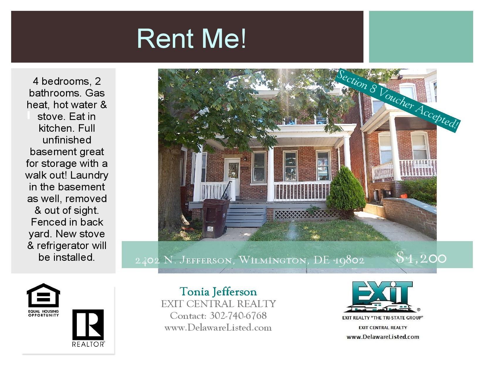 Peachy Rent Me For Rent Wilmington De Beutiful Home Inspiration Semekurdistantinfo