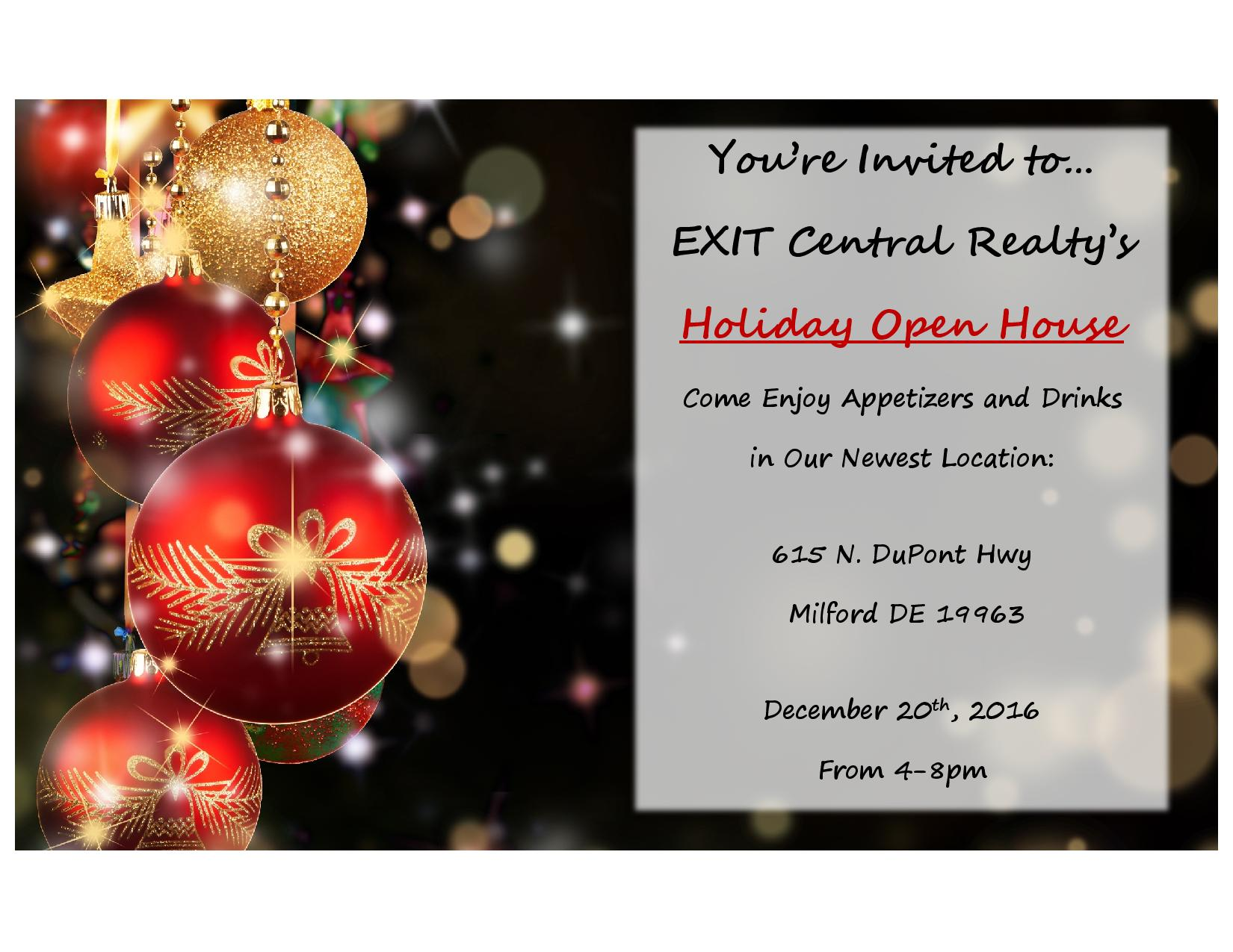 Delaware kent county viola - Come Join Us Exit Holiday Party