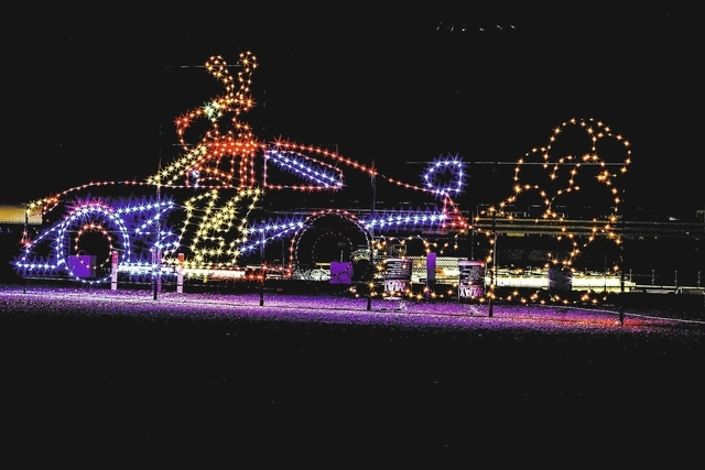Real Estate Blog | speedway christmas lights las vegas | Because I ...