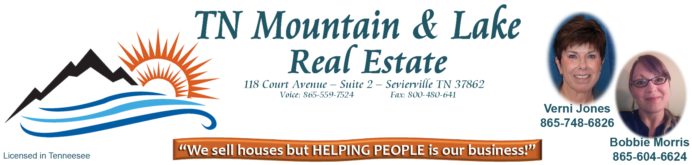 "TN Mountain & Lake Real Estate - ""We sell homes but HELPING PEOPLE is our business!"""