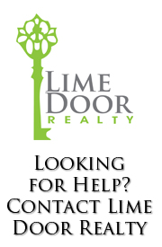 Need help with your real estate needs? Contact Lime Door Realty today!