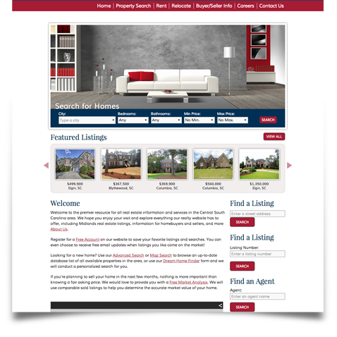 Russell and Jeffcoat, Broker Websites testimonial