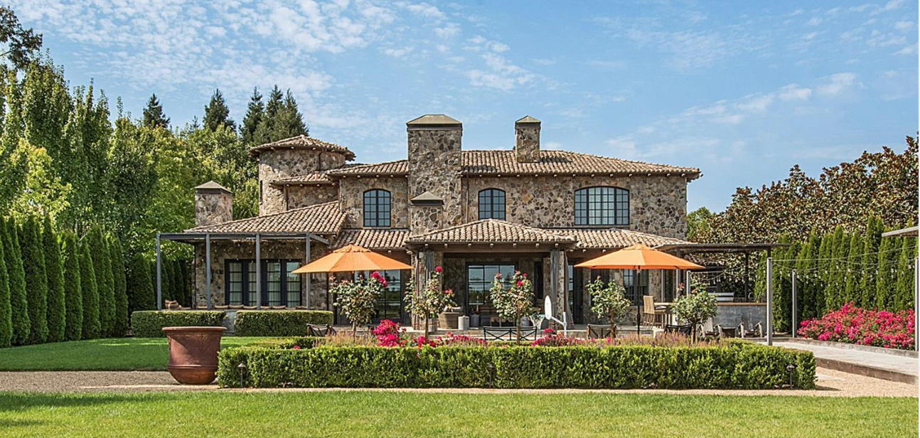 Napa wine country home