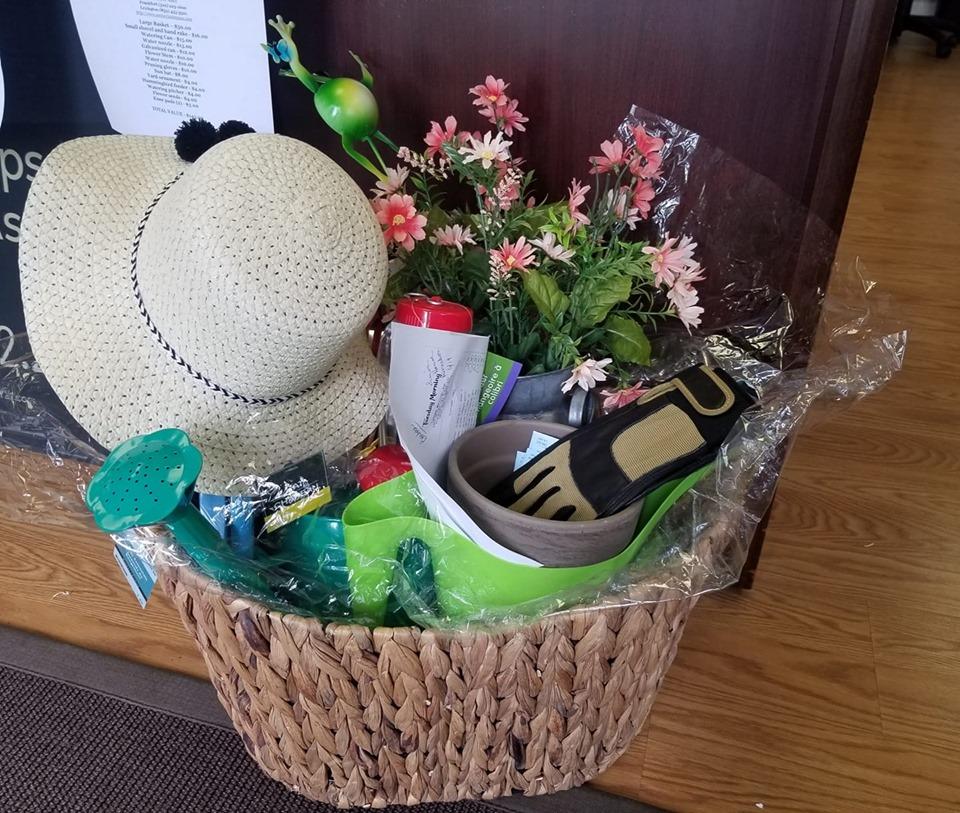 CENTURY 21 Simpson & Associates Gardening Basket for 2019 Simon House Silent Auction