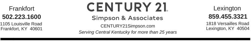 10245614b7ed1 CENTURY 21 Simpson   Associates Rebranding