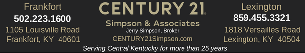 CENTURY 21 Simpson - State Journal Sunday Ad Banner