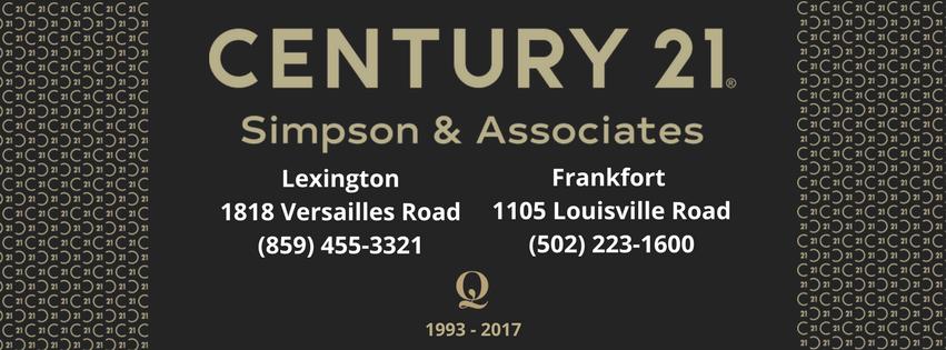 CENTURY 21 Simpson - Lexington Facebook Cover