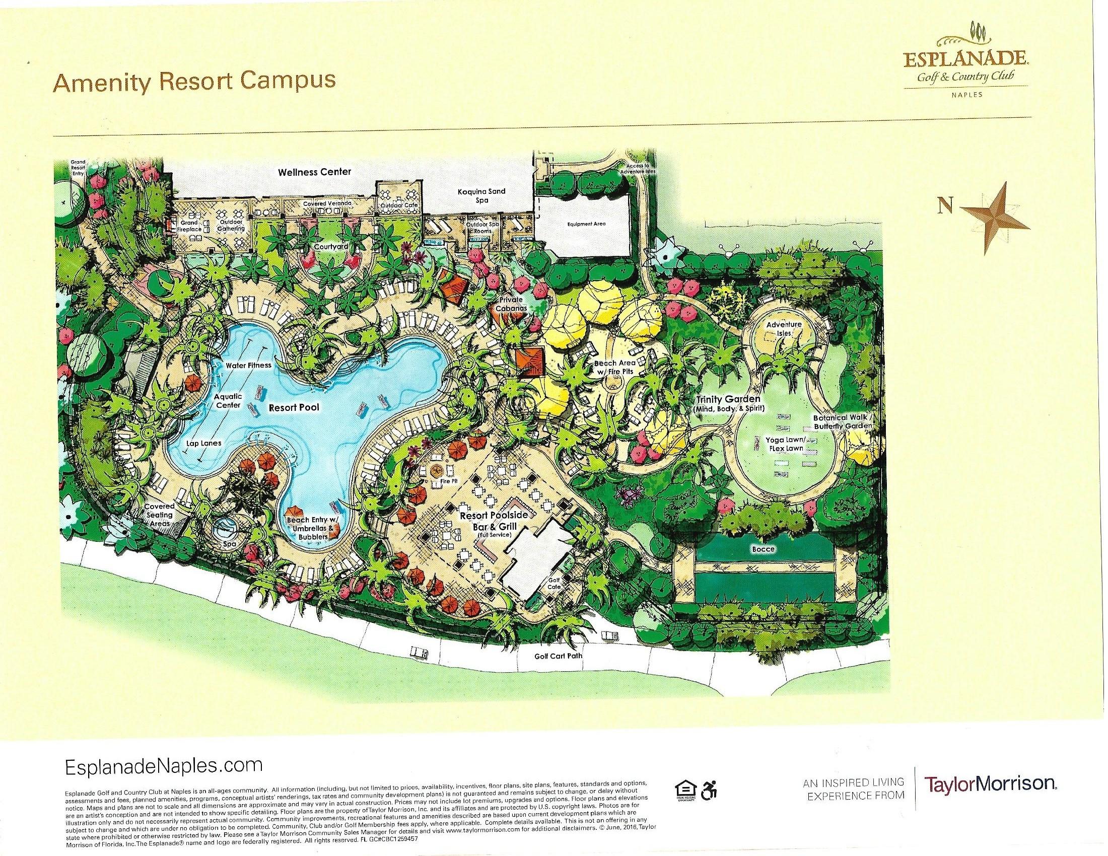 Esplanade Site Plans The Golf Course Experts Jim