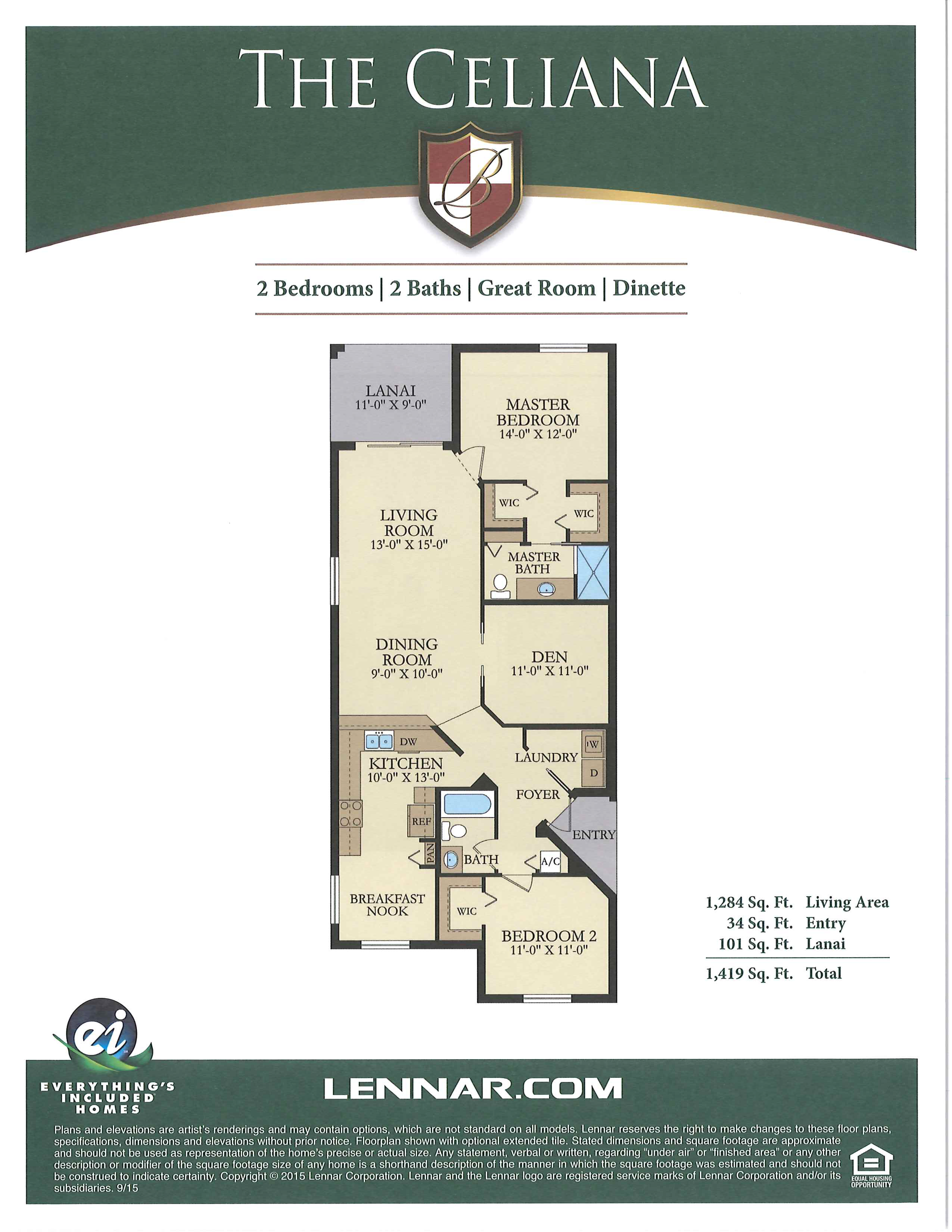 Bonita National Floorplans The Golf Course Experts