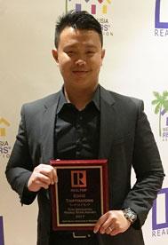 2017 WVAR Rising Star Award, Eddie Thipphovang,  Deltona real estate agent, Deltona REALTOR