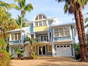 Long Key FL Single Family Home Sold: $1,950,000