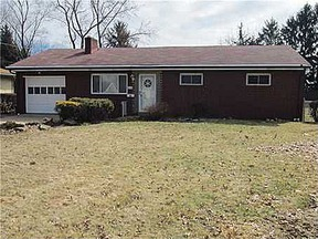 Monroeville PA Single Family Home Sold: $107,900