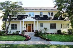 Chevy Chase MD Single Family Home Sold: $1,399,000