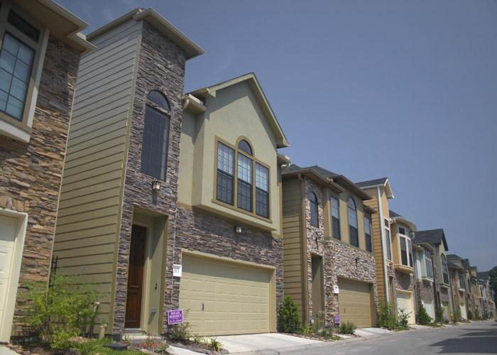 Rice Military Townhomes Homes For Lease  Rice Military  Houston Texas