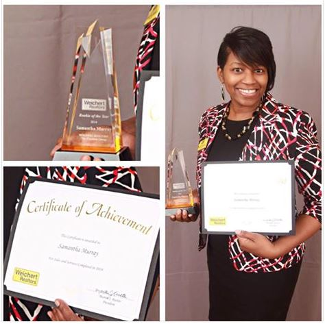 2015 Rookie of the Year Award from Weichert Affiliates Southeastern Broker Council.