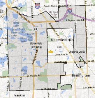 Bloomfield Michigan Map.Bloomfield Mi Homes For Sale Inside Realty Llc