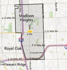 Madison Heights MI Homes For Sale Inside Realty LLC - Madison heights michigan on us map