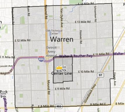 Warren MI Homes For Sale  Inside Realty LLC