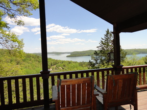 Garfield AR Single Family Home LILY'S LAKEVIEW CABIN: $275 Per Night
