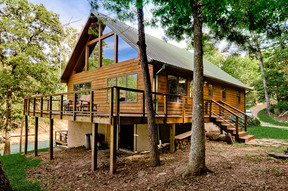 Rogers AR Single Family Home HAMLEY LAKEFRONT RETREAT: $295 Per Night