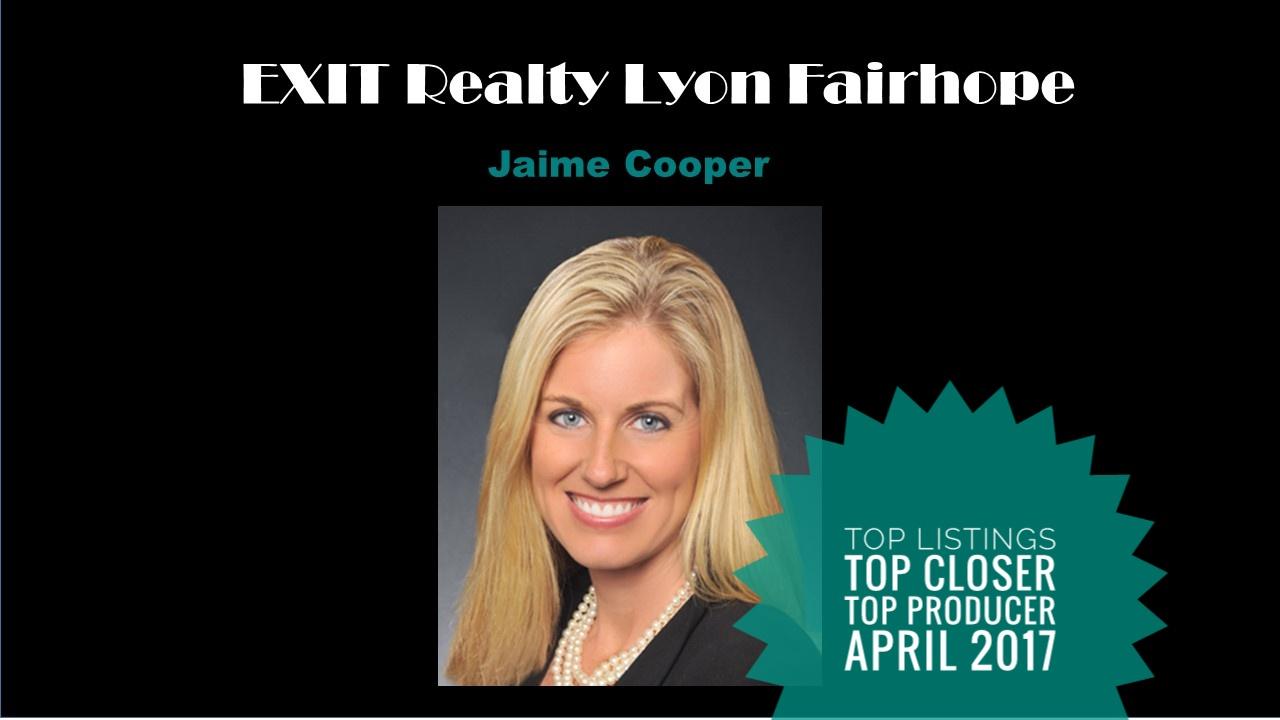 Top Agent Fairhope April 2017