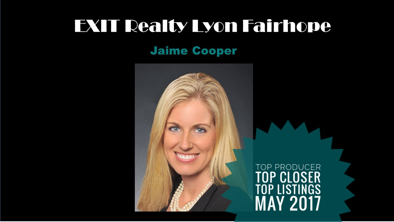 Fairhope Top Agent May 2017
