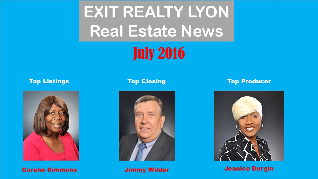 Top Agents July 2016
