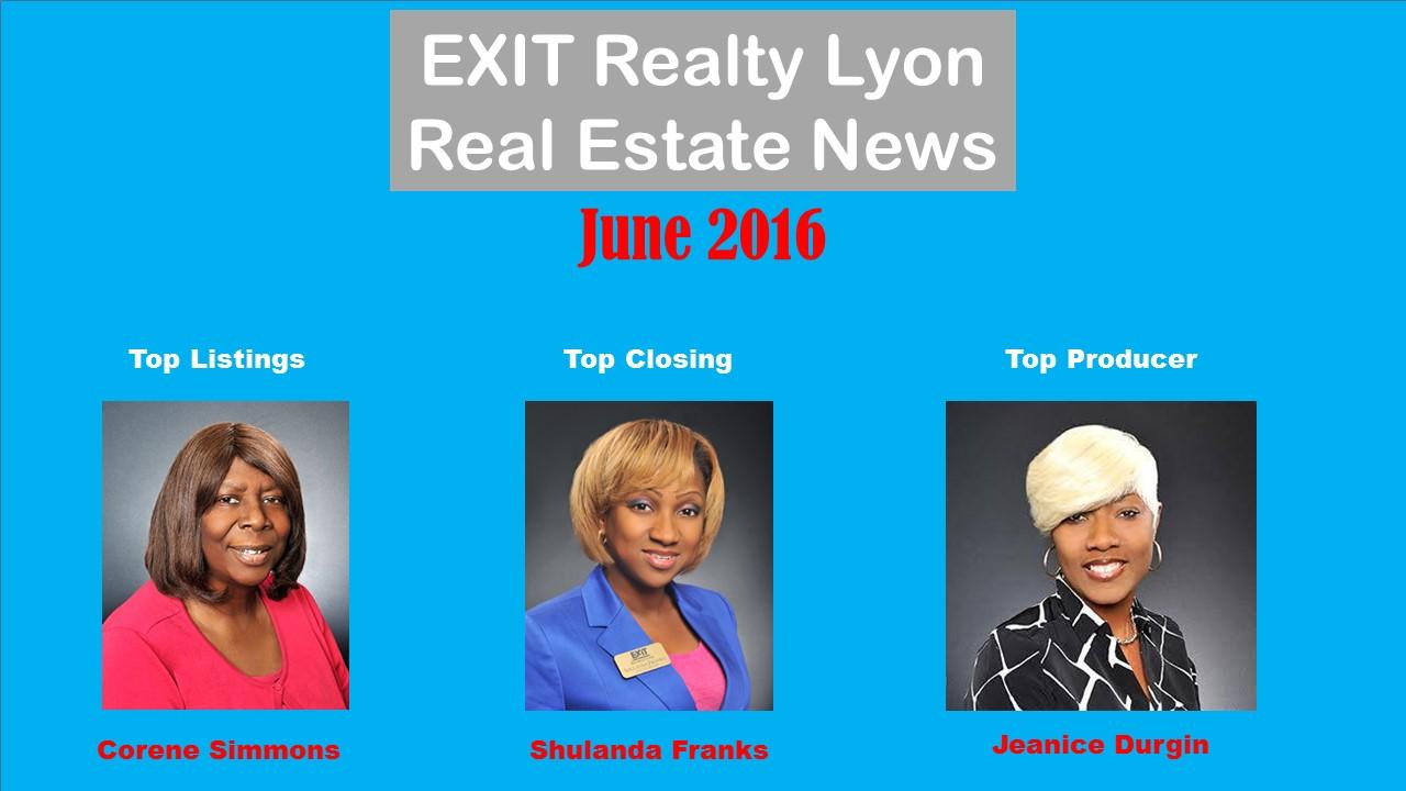 Top Agents June 2016