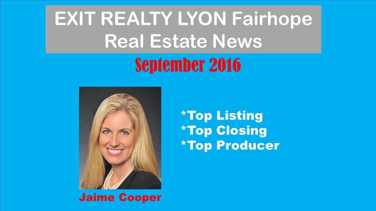 Top Fairhope Agent September 2016