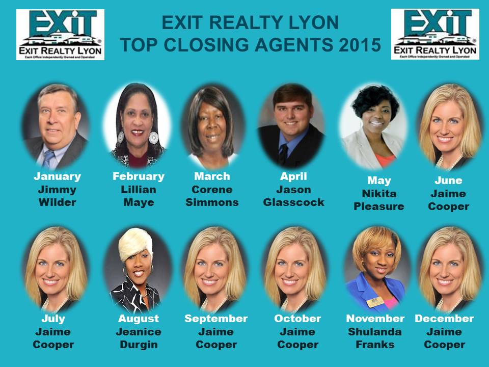 Top Closing Agents 2015