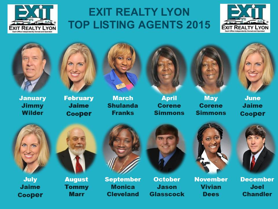 Top Listing Agents 2015