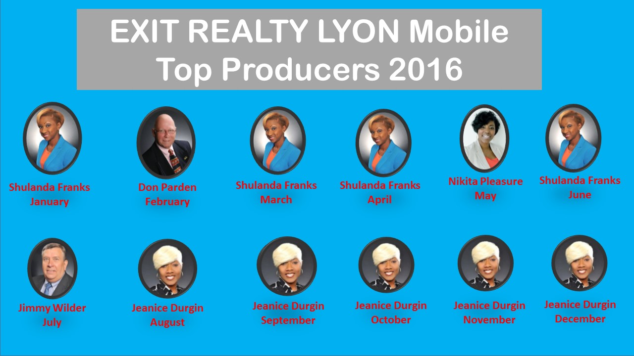 Top Producers 2016