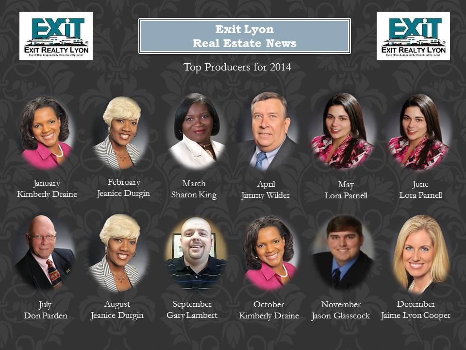 Top Producers for 2014