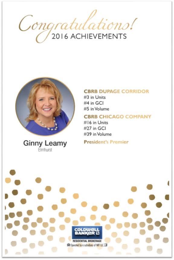 Leamy Team 2016 Achievements