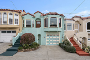 San Francisco CA Single Family Home For Sale: $998,000