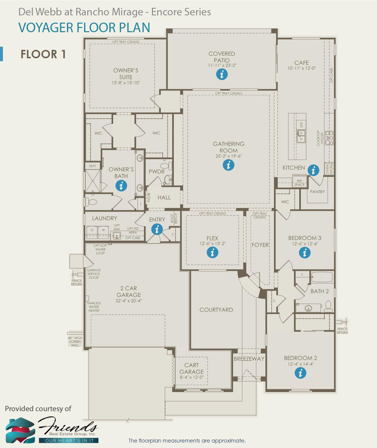Encore Series ~ Voyager Floor Plan