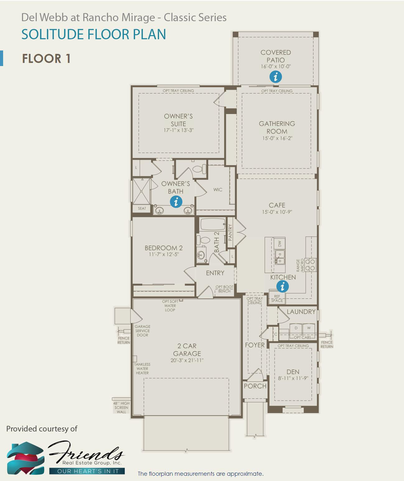 Classic Series ~ Solitude Floor Plan