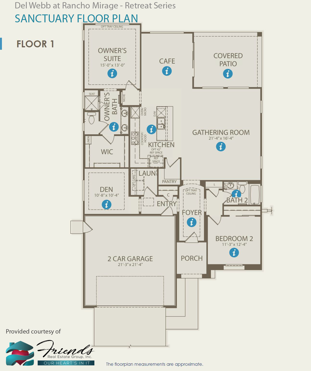 Retreat Series ~ Sanctuary Floor Plan