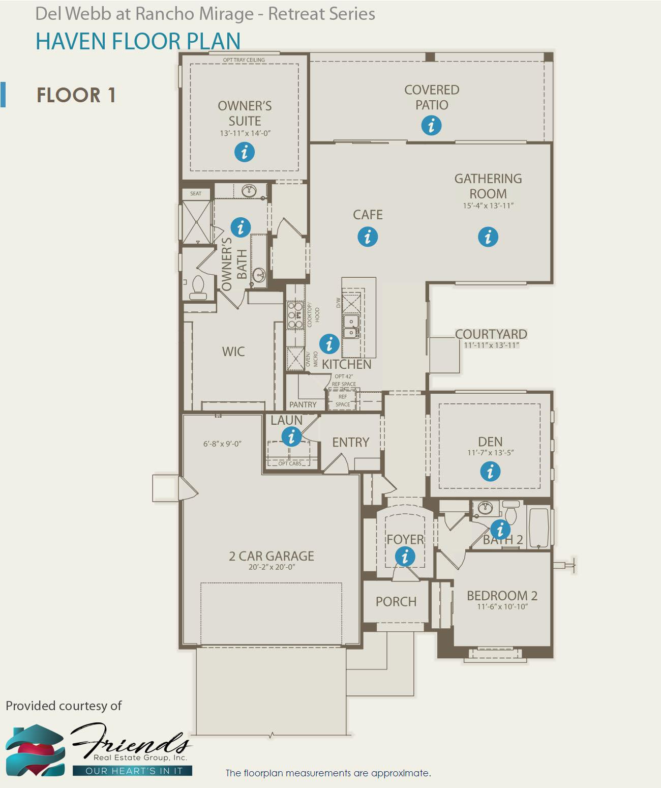 Retreat Series ~ Haven Floor Plan