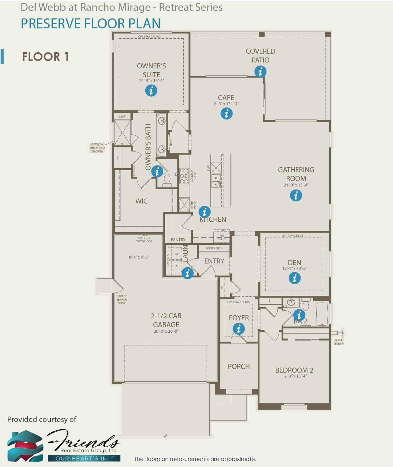 Retreat Series ~ Preserve Floor Plan