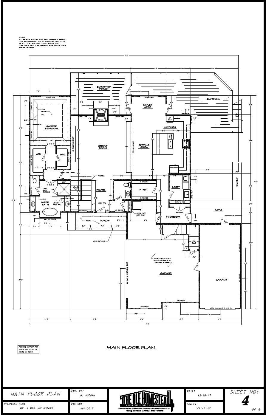 Lake Hartwell Dream Home - Main Floor